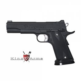 Pistola KING ARMS Predator Iron Shrike Negro - 6 mm GBB