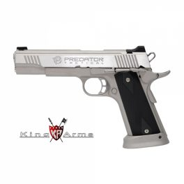 Pistola KING ARMS Predator Iron Shrike Plata - 6 mm GBB