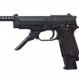 Pistola M93R II, semi/ráfaga 3 tiros Negra - 6 mm GBB