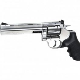 "Revólver Dan Wesson 715 6"" Silver, Low Power - 6 mm Co2"