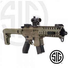 Subfusil Sig Sauer MPX ASP FDE + Red Dot Co2