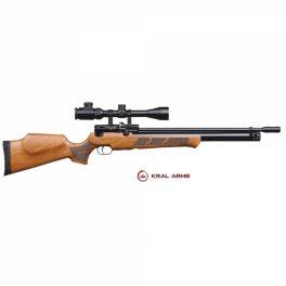 Carabina PCP KRAL Puncher Madera 5,5 mm - 24 Julios