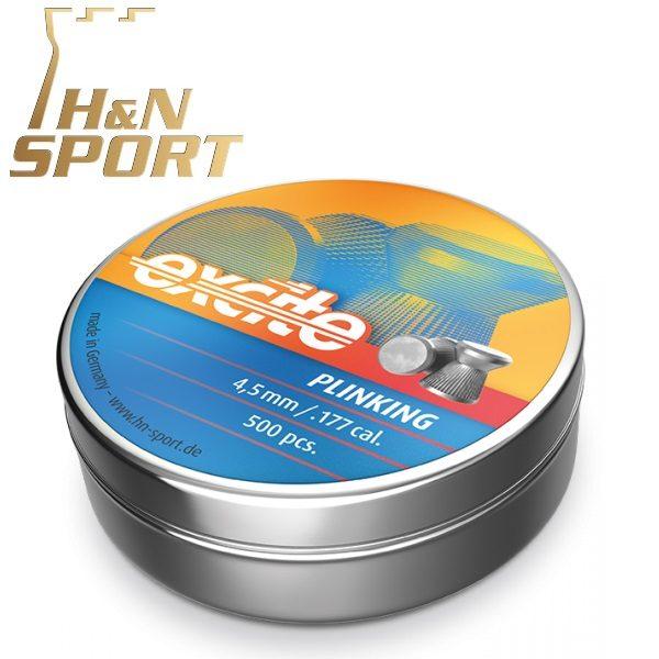 Balines H&N Excite Plinking 0,47g lata 500 unid. 4,5mm