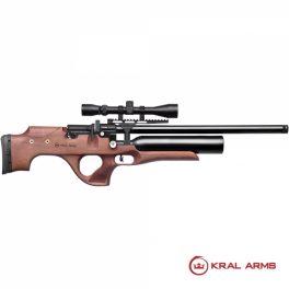 Carabina PCP KRAL Puncher Knight Madera 4,5/5,5mm - 24 Julios