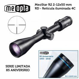 Visor Meopta Meostar R2 2-12x50 RD - 4C Anniversary - Edición Limitada