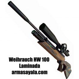 Carabina Weihrauch HW100 T (Laminada) Cal. 4,5 Y 5,5 mm