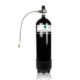 Botella 12 litros PCP 300 bares. Kit completo
