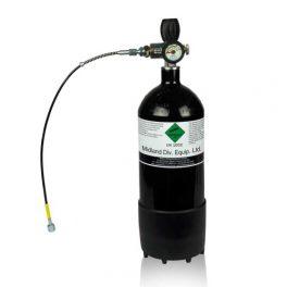 Botella 4 litros PCP 300 bares. Kit completo
