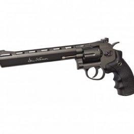 """Revólver Dan Wesson 8"""" Gris - 6 mm Co2"""