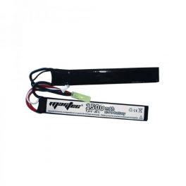 Batería Li-Po ZASDAR 7´4 V 1500 mAh 20C - 2 sticks (7 x 21 x 126 mm)
