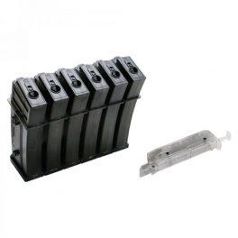 Cargador-Set 6 cargadores Low Cap 25 tiros