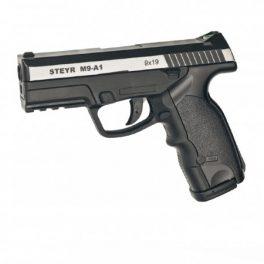 Pistola Steyr M9-A1 Duotone corredera metálica - 4,5 mm Co2 Bbs Acero
