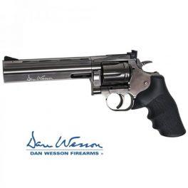 """Revolver Dan Wesson 715 6"""" Steel Grey - 4,5 mm Co2 Balines"""