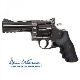 "Revolver Dan Wesson 715, 4"" Steel Grey - 4,5 mm Co2 Bbs Acero"