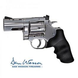 """Revolver Dan Wesson 715, 2,5"""" Silver - 4,5 mm Co2 Bbs Acero"""