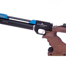 Pistola PCP Tizonni PP700 Cacha Basculante Nogal-Azul