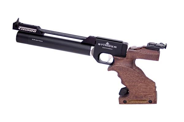 Pistola PCP Tizonni PP700 Cacha Basculante Nogal-Negro