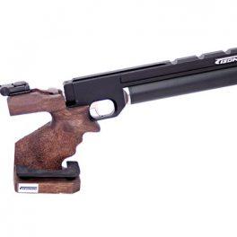 Pistola PCP Tizonni PP700 Rail Negro Cacha Basculante Nogal
