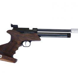 Pistola Co2 Tizonni CP1 Básica Nogal-Negro (Monotiro)
