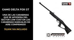 Gamo delta fox, un top ventas mundial