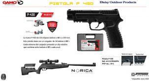 Novedades Gamo y Norica, pistola semiautomática Gamo P-430