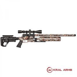 Carabina-PCP-KRAL-Puncher Jumbo Dazzle-Camo-5,5-mm-24 Julios